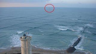 Si ve olas cuadradas en el océano, salga del agua inmediatamente.