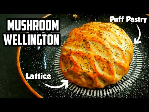 Mushroom Wellington - The Perfect Vegetarian Recipe for Christmas