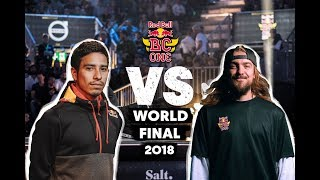 Victor (USA) vs. Uzee Rock (UKR) | Top 8 | Red Bull BC One World Final 2018