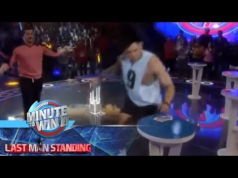 Wheel Of A Deal | Minute To Win It - Last Man Standing
