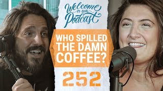 Who spilled the coffee?