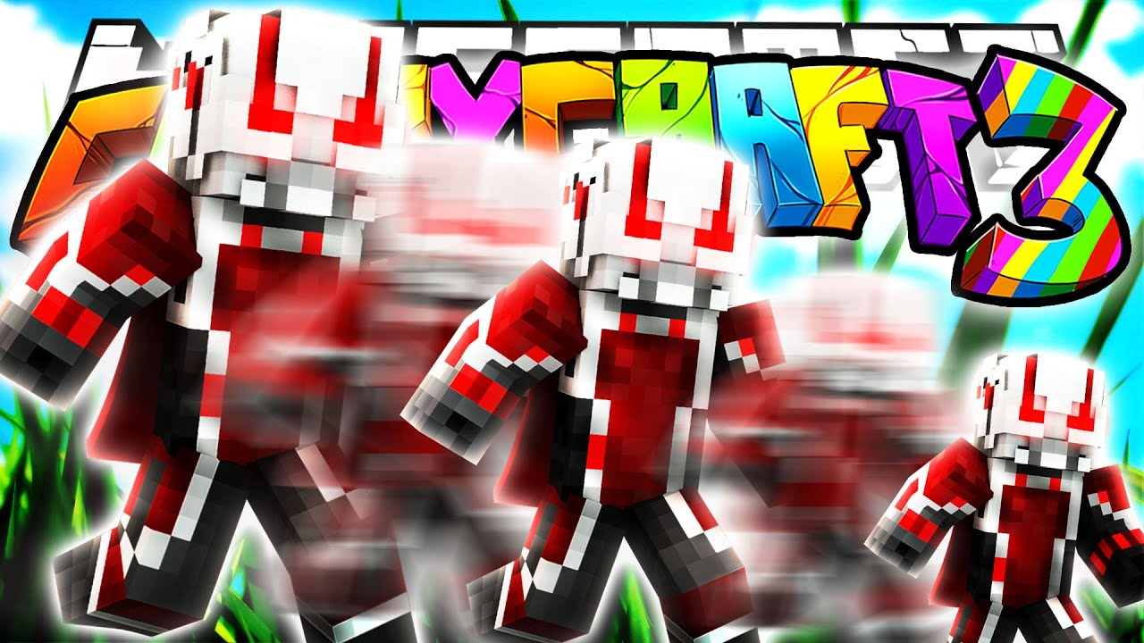 Minecraft crazy craft 3 0 ant man shrinking superheroes for Crazy craft 3 0 server