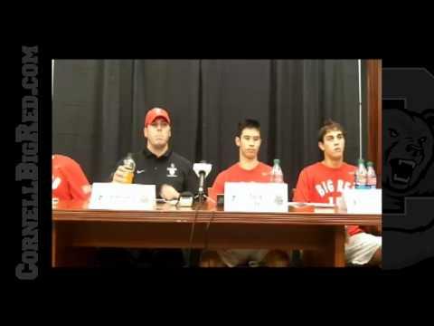 Men's Lacrosse Post Hartford Press Conference