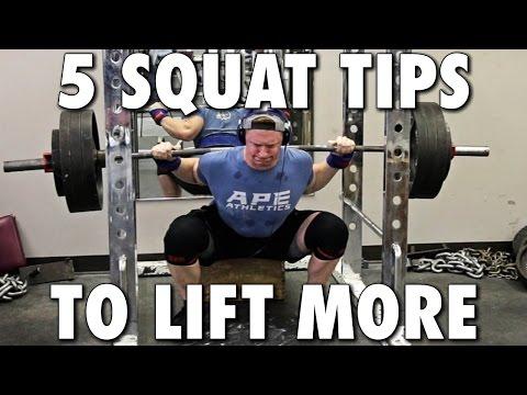 5 Methods to Squat Better