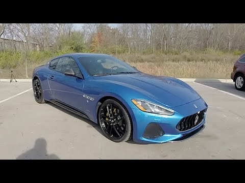 2018 Maserati GranTurismo Sport|Walk Around Video|In Depth Review