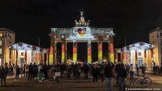 Падение Берлинской стены: концерт у Бранденбургских ворот