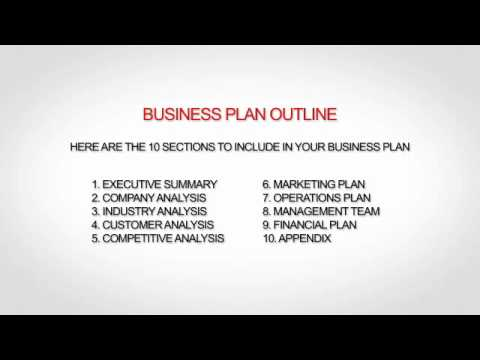 Non Profit Business Plan Template  Youtube