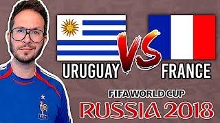URUGUAY vs FRANCE : TOUS LES BUTS DU MATCH ⚽️ COUPE DU MONDE 2018 - FIFA 18