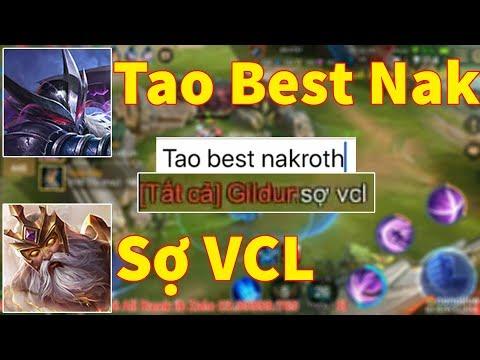 Mạnh Blue Quẩy Nakroth 271 Trận 100% Win Chat Tất Cả Tao Best Nak Sẽ NTN Và Cái Kết