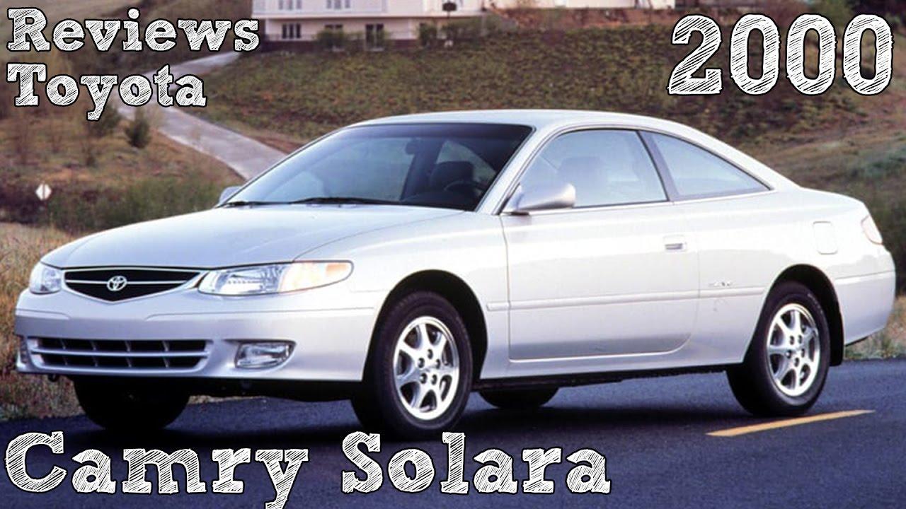 Reviews Toyota Camry Solara 2000