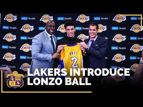 Download Youtube: Lonzo Ball's Lakers Introductory Press Conference  (IN FULL)