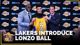 Lonzo Ball's Lakers Introductory Press Conference  (IN FULL)