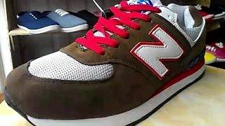 Обзор обуви! Кроссовки New Balance бело-коричневого цвета