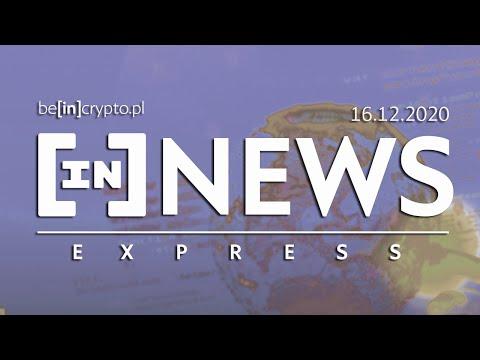 150 000 BTC od Mt.Gox, PayPal nie ma BTC, Nowe ATH? - [in]NEWS Express - 16.12.2020