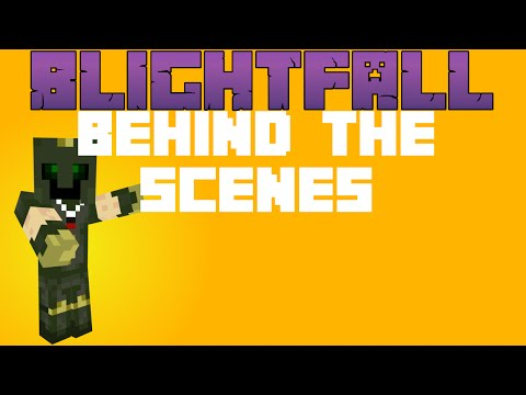 Amazing Nether Ores! Let's Play Blightfall [Behind The Scenes] [22½]