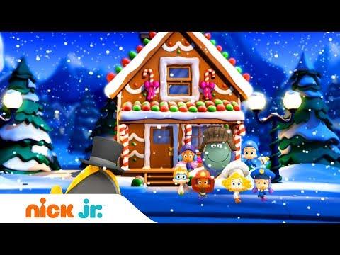Гуппи и пузырики | Новогодняя песенка | Nick Jr. Россия