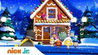 Гуппи и пузырики   Новогодняя песенка   Nick Jr. Россия