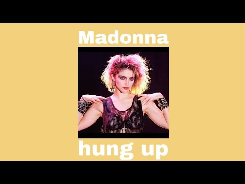 Madonna - Hung up (Slowed+Lyrics)