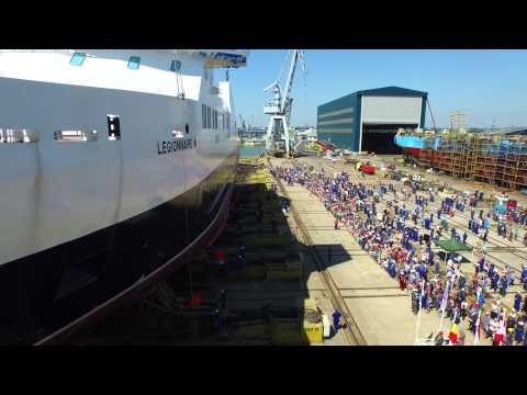 Launch RoPax Ferry 'MV Legionnaire'