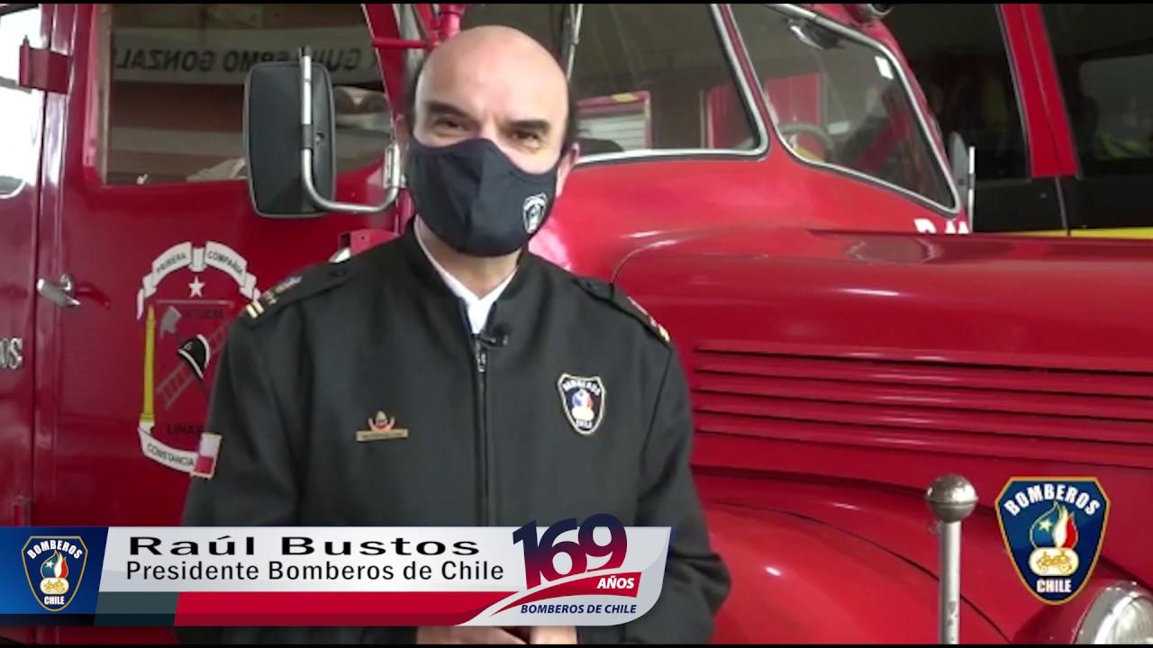 Saludo del Presidente de Bomberos de Chile al Sistema Nacional de Operaciones ( SNO )