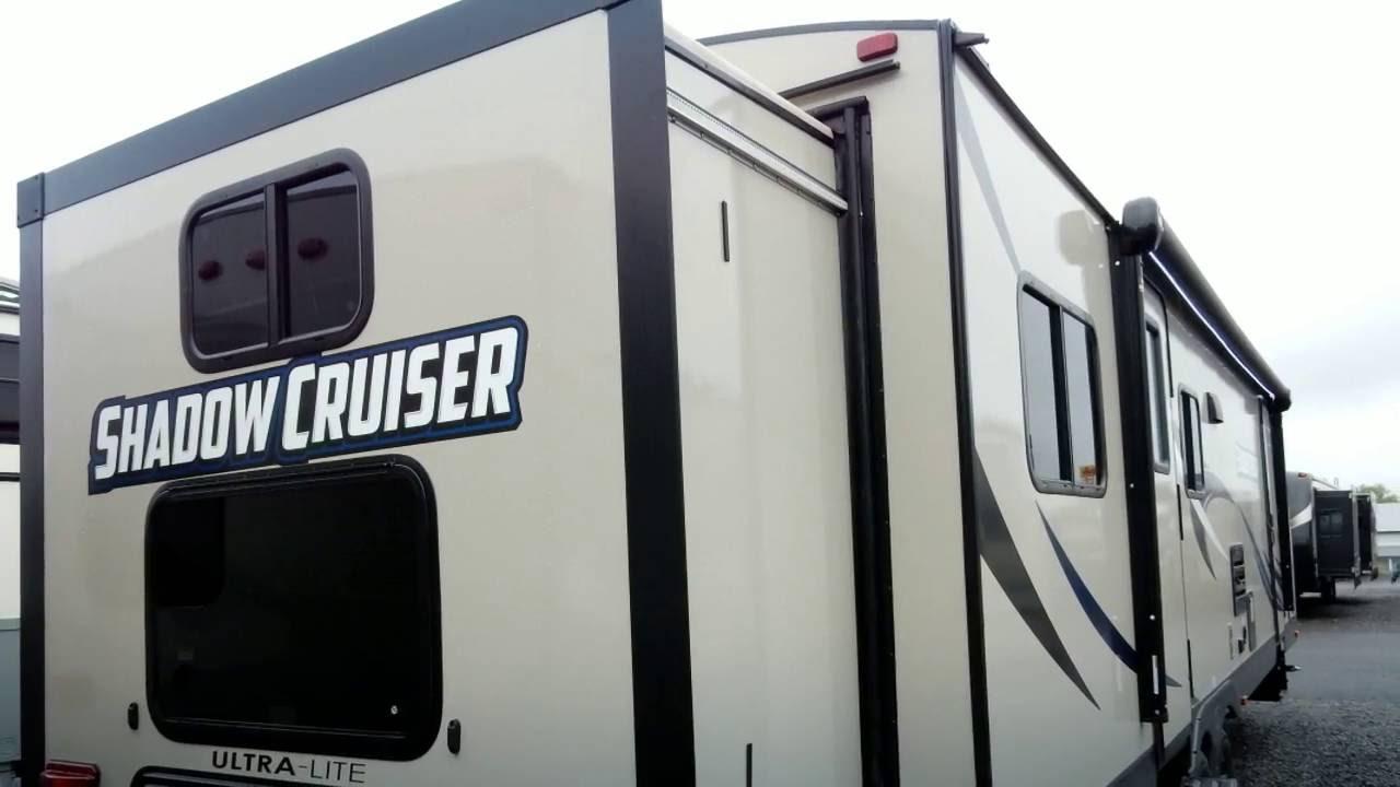 2017 Shadow Cruiser 289rbs Ultra Lite Travel Trailer Rv
