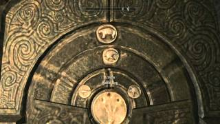 Repeat youtube video [SKYRIM] Puzzle Guide - Reach Water Rock & the Two Symbol Doors