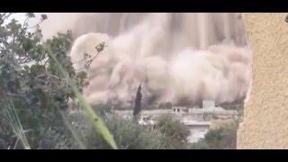 Война  в Сирии  Подборка взрывов