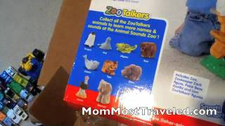 Fisher Price Little People Zoo Talkers Animal Sounds Zoo Toy Review and Demo