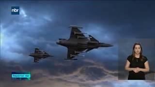 Conheça um pouco mais do Grípen, avião de caça que patrulhará o céu do Brasil