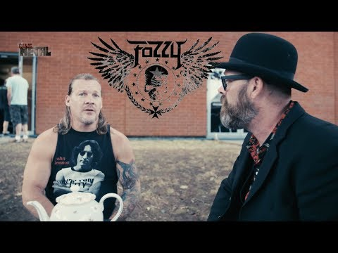 FOZZY interview by Lord Flatbottom III at Alcatraz Metal Festival 2018