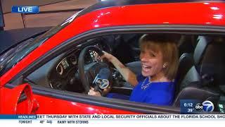 Dodge Demon Simulator at the Chicago Auto Show
