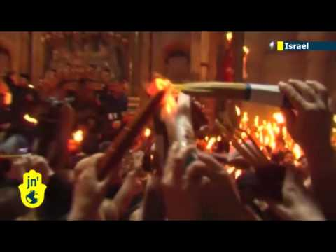 Easter in Jerusalem: Christians celebrate Holy Fire ceremony in heart of Israeli capital city
