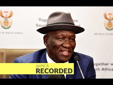 Police Minister Bheki Cele announces new police commissioner of Gauteng