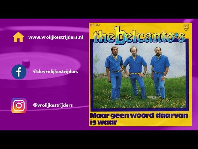 PiratenHits - The Belcanto's - Maar Geen Woord Daarvan Is Waar