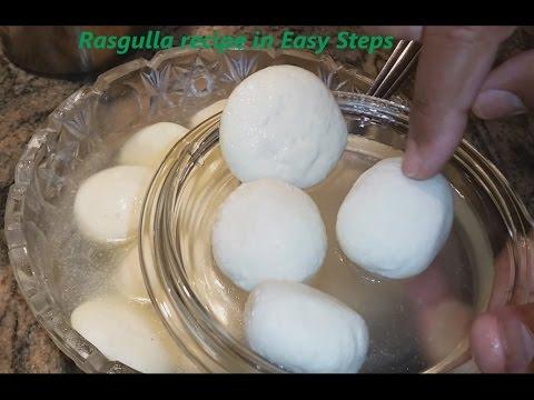 How to make Rasgulla   Bengali Sponge Rasgulla Recipe