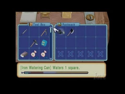Harvest Moon: Magical Melody GameCube Gameplay - Journal