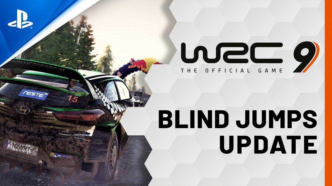 WRC 9 - Blind Jumps Update | PS4