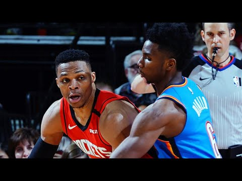 Download Houston Rockets vs OKC Thunder Full Game Highlights | January 20, 2019-20 NBA Season
