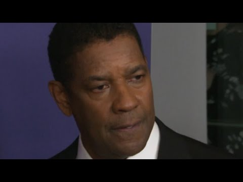 Download Denzel Washington Reacts To Viral Photos Of Border Agents Dispersing Haitians On NYFF Opening Night
