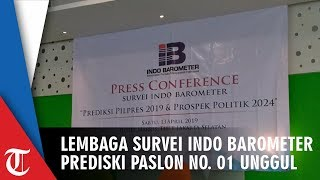Prediksi Jokowi Ma'ruf Menang Pilpres 2019 oleh Lembaga Survei Indo Barometer