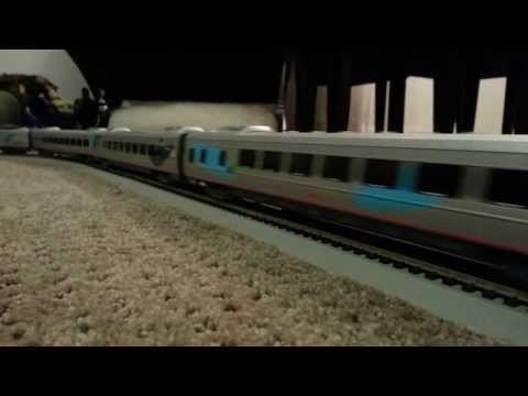 Modelling Railway Train Track Plans-Tremendous Planning For Getting The Maximum From Your Amtrak Acela HO Scale Set