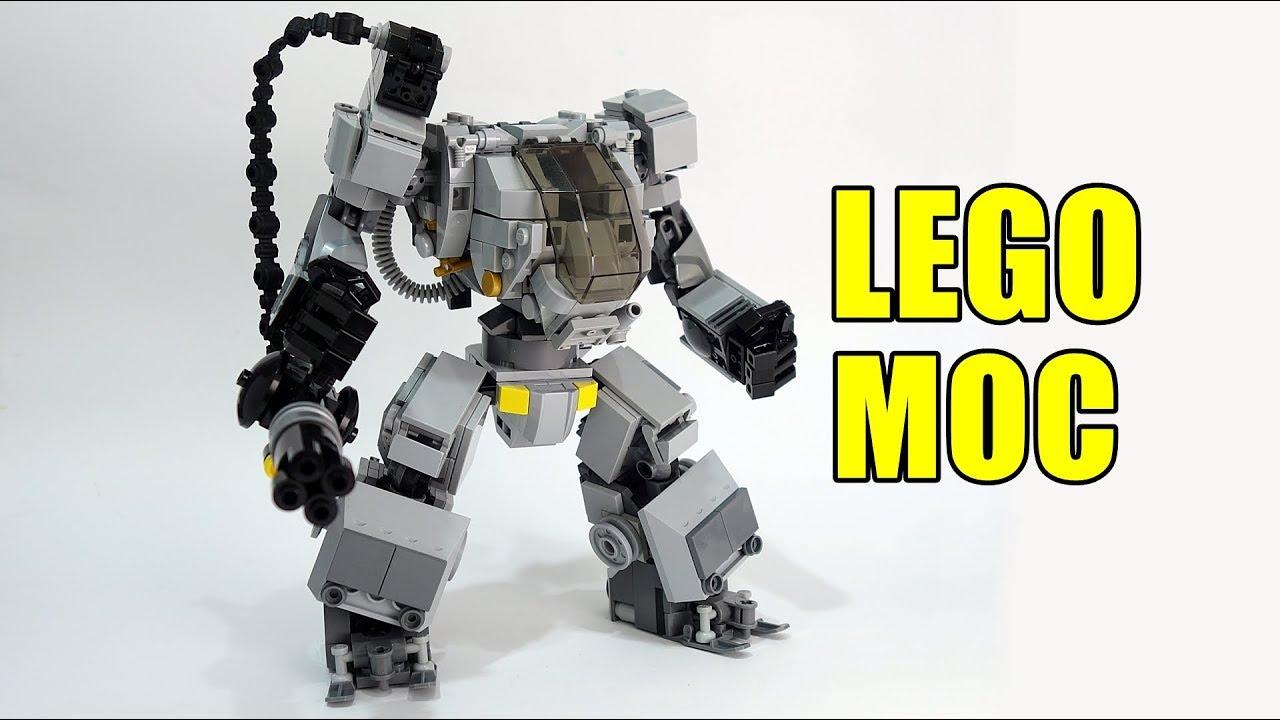 Lego AMP Mech Suit - YouTube