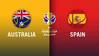 Australia v Spain - Semi-final Highlights | FIBA Basketball World Cup 2019