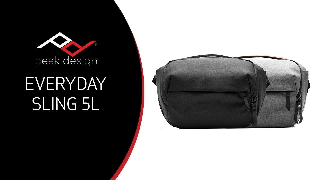 unboxing overview peak design everyday sling bag 5l