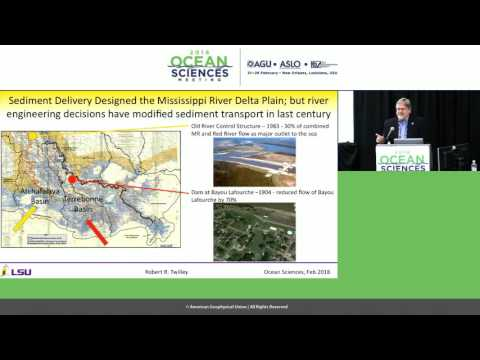 2016 Ocean Sciences Meeting press conference - Combating coastal land loss