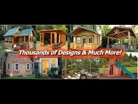 Awesome HOW TO BUILD PERFECT SHEDS Step By Step U2013 Easy To Follow Plans