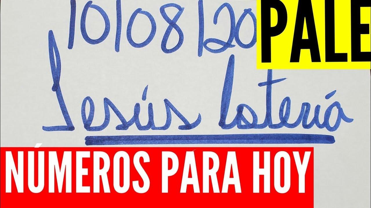 NUMEROS PARA HOY 10/08/2020 DE AGOSTO PARA TODAS LAS LOTERÍAS !!! JESUS LOTERIA.