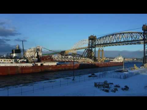 Great lake freighter Philip R Clarke