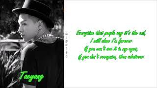 Taeyang - intro (rise) english lyrics