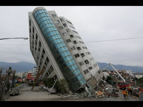 At least four killed, 145 missing after quake rocks Taiwan tourist area